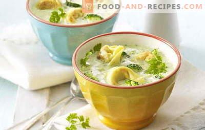 Suppe mit Knödel - ungewöhnliche Rezepte für ein leckeres Gericht. Kochen Sie leckere Suppen mit Knödel