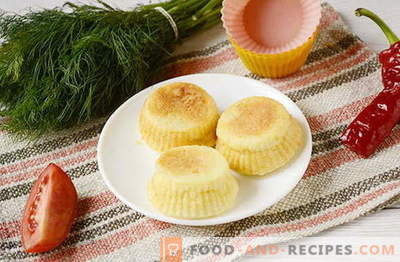 Snack-Kuchen aus Schmelzkäse. Hast du diese probiert?