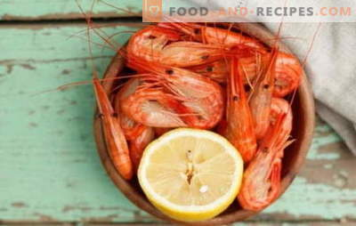 Wie und wie viel Garnelen gekocht werden? Feinheiten, Geheimnisse, Kochrezepte für gekochte, gefrorene, ungeschälte Garnelen, königliche und andere