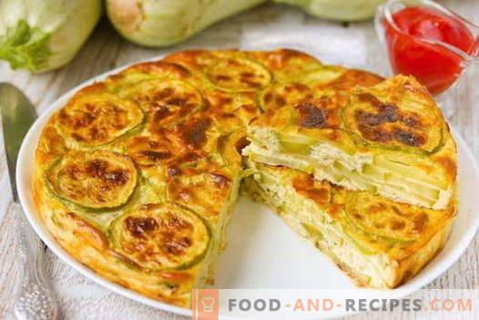 Zucchini-Auflauf - die besten Rezepte. Wie man richtig und lecker Zucchini-Auflauf kocht.