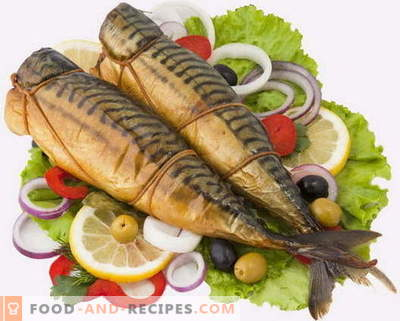 Smoked mackerel - the best recipes. How to cook smoked mackerel at home.