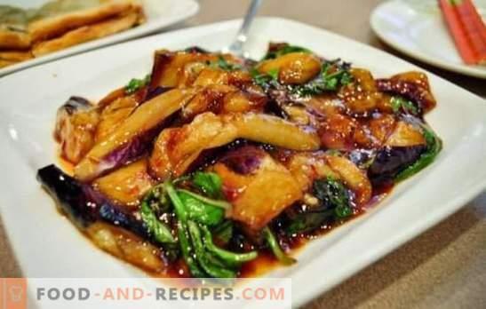 Gemüse in Sojasauce: gebraten, gebacken, gedünstet. Fügen Sie einen orientalischen Touch von Gemüsegerichten mit Sojasauce hinzu.