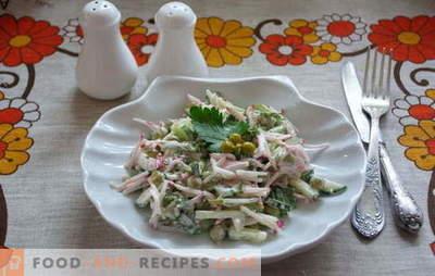 Meet: leckere und einfache Salate in Eile! Rezepte einfacher Salat für Wochentage und Feiertage