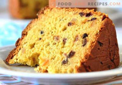 Osterkuchen - nur bewährte Rezepte. Wir backen einen leckeren Osterkuchen in einem Brotbackautomaten, einem Slow Cooker oder einem Ofen