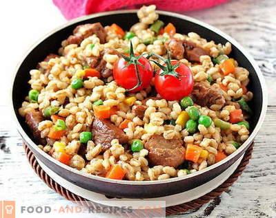 Gerste mit Fleisch - die besten Rezepte. Wie man richtig und schmackhaftes Gerstenfleisch kocht.