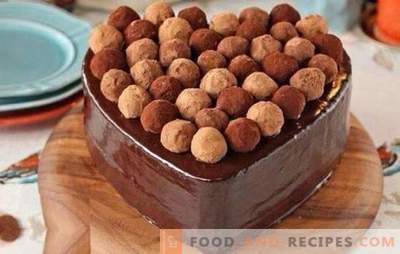 Truffle cake is a masterpiece! Recipes for delicious truffle cakes with meringue, fruit, various creams