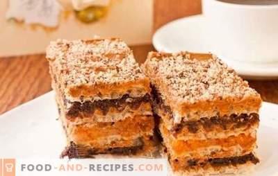Kuchen aus Konfektkuchen mit Kondensmilch - Überraschungsgäste!