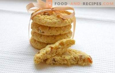 Weiche Haferkekse - Rezepte und Tricks. Wie backen Sie weiche Haferkekse mit Honig, Nüssen, Orangen, Äpfeln und Hüttenkäse