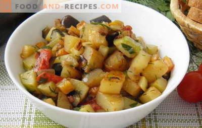 Gemüseeintopf mit Zucchini und Kartoffeln ist der Favorit der Sommerkarte. Rezept für Gemüseeintopf mit Zucchini und Kartoffeln: Mindestaufwand