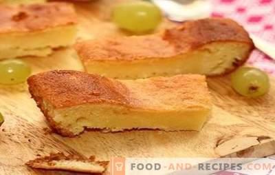 Torte mit saurer Milch - alles Geniale ist einfach. Tortenrezepte mit Sauermilch im Ofen und Multikocher