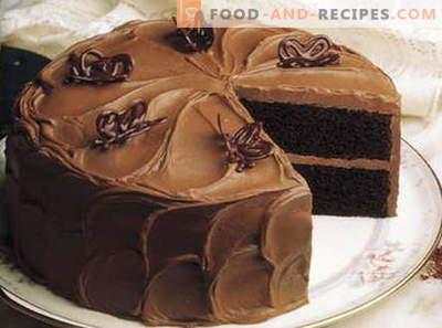 Schwarzer Kuchen - die besten Rezepte. Wie man richtig und lecker schwarze Torte kocht.
