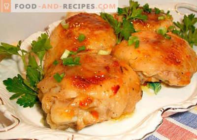 Hühnchen im Schnellkochtopf - die besten Rezepte. Wie man richtig und lecker Hähnchen in einem Schnellkochtopf kocht.