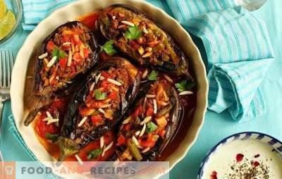Aubergine auf Türkisch mit Hackfleisch - ein Favorit der türkischen Küche! Rezepte, Feinheiten und Geheimnisse des Kochens saftiger und unglaublich leckerer türkischer Auberginen mit Hackfleisch
