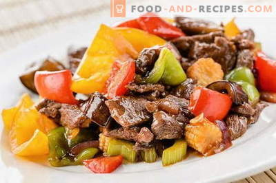 Fleisch auf Chinesisch - die besten Rezepte. Wie man Fleisch auf Chinesisch richtig kocht.