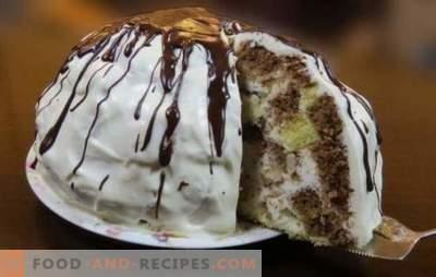 Sancho Pancho Cake - ein zarter Biskuitkuchen im Originaldesign. Kommen Sie mit einem saftigen Kuchen