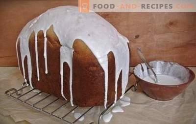 Osterkuchen im Brotbackautomat - funktioniert immer! Wie man einen üppigen Kuchen in der Brotbackmaschine zubereitet: Rezepte mit Trockenfrüchten, Zitrusfrüchten, Honig