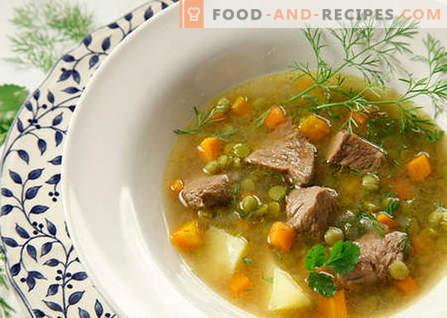 Suppen mit Fleisch - die besten Rezepte. Wie man richtig und lecker Suppen mit Fleisch kocht.