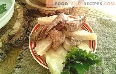 Avar Khinkali - lecker, einfach, originell! Wie man leckeres Avar khinkali zubereitet, Optionen für Saucen für sie