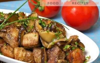 Schweinefleisch mit Pilzen in einem langsamen Kocher - zartes Fleisch mit einem magischen Aroma! Wie man schnell Schweinefleisch mit Pilzen in einem langsamen Kocher