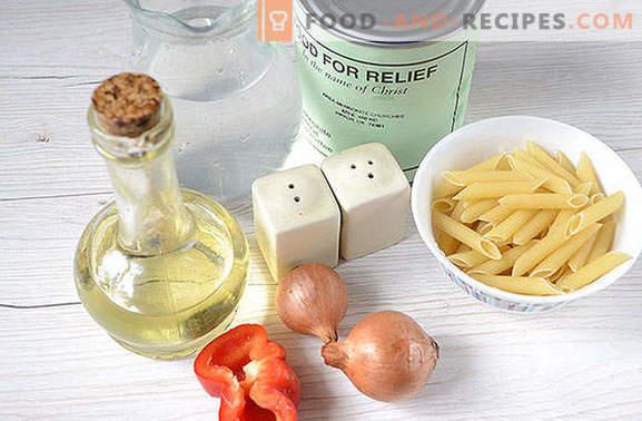 Cuire d'excellentes pâtes de manière navale avec un ragoût en 25 minutes
