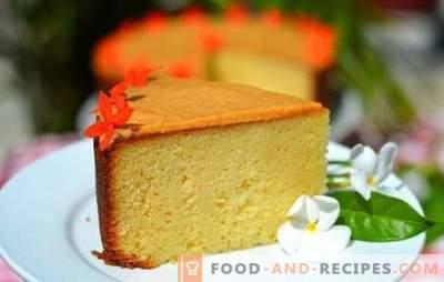 Ein trockener Keks ist eine einfache Basis für wundervolle Kuchen. Rezept und Technologie zum Backen von trockenen Keksen