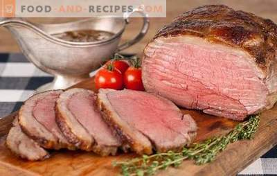 Rinderbraten - nicht nur für Briten! Neue und klassische Roastbeef-Rezepte in verschiedenen Marinaden mit Pilzen, Gemüse