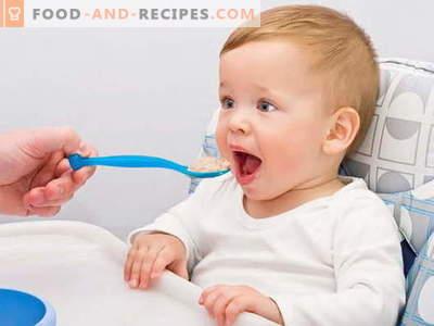 Baby Müsli - die besten Rezepte. Wie man Brei für Kinder kocht.