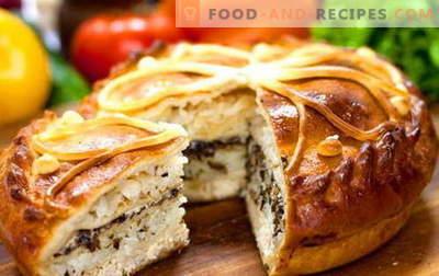 Kurnik - die besten Rezepte. Wie man richtig und lecker Hähnchen mit Kartoffeln, Hähnchen und Blätterteig kocht.