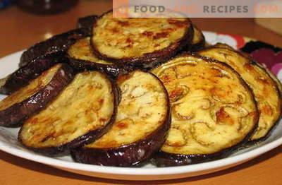 Aubergine mit Knoblauch - die besten Rezepte. Wie man richtig und lecker Auberginen mit Knoblauch kocht.