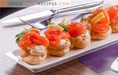 Fisch-Vorspeisen - lecker! Rezepte für die leckersten Fisch-Vorspeisen von Hering, Dosen, Auflauf mit Butter, Käse, Gemüse