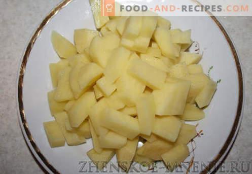 Knödel mit Käse - die besten Rezepte. Wie man richtig und lecker Knödel mit Käse zu Hause gart.