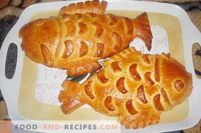 Fischkuchen - die besten Rezepte. Wie man richtig und köstlich eine Fischpastete kocht.