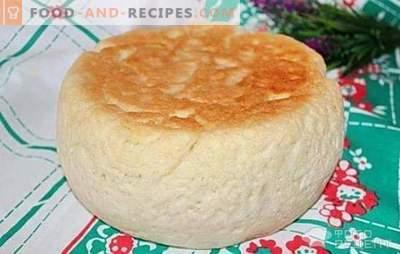 Weißbrot im Schmortopf: Schnell und lecker zu Hause kochen. Optionen zum Garen von Weißbrot in einem langsamen Kocher auf Haferflocken, auf Sauerrahm mit Karottensaft oder Grünzeug