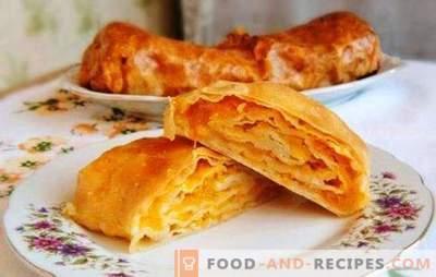 Moldavskaya Placinda - eine Tortilla mit einer Füllung oder einem Kuchen? Rezepte moldauische Placinda mit verschiedenen Füllungen