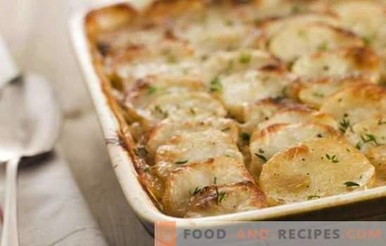 Kartoffeln mit Mayonnaise im Ofen - nicht sehr nützlich, aber unglaublich einfach und lecker. Die besten Rezepte für Kartoffeln mit Mayonnaise im Ofen
