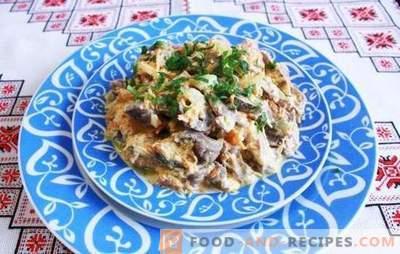 Hühnerkammern in einem Multikocher - fühlen Sie den Geschmack von Fleisch! Verschiedene Rezepte für hervorragende Gerichte aus den Hühnerkammern im Slow Cooker