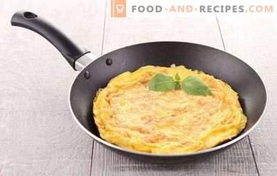 Klassisches Omelett - französisches Frühstück. Wie man ein klassisches Omelett zubereitet: einfache und leckere Rezepte