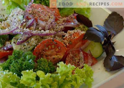 Georgischer Salat - die besten Rezepte. Wie man richtig und lecker georgischer Salat kocht.