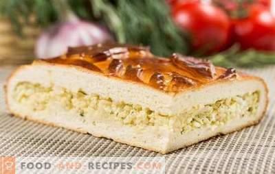 Torte mit Ei und Mayonnaise: lecker ohne besondere Weisheit. Rezepte der besten hausgemachten Eier- und Mayonnaisekuchen