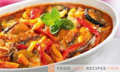 Zucchini-Eintöpfe - die besten Rezepte. Wie man richtig und lecker Kochtopf von Zucchini kocht.