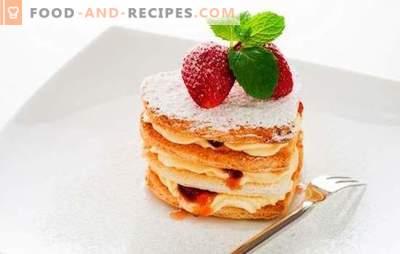 Desserts ohne Backen - einfache Süßigkeiten zur Freude! Rezepte verschiedener hausgemachter Desserts ohne Backen aus Keksen, Lebkuchen, Obst, Hüttenkäse