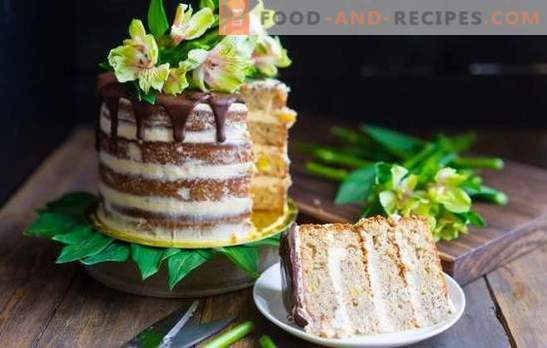 Hummingbird Cake - Obstteller und saftige Kekse. Eine Auswahl an Kuchen