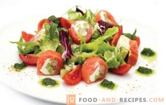 Salat mit geräucherten Tomaten - Vorspeise mit Rauch! Rezepte für leckere Salate mit geräucherten Tomaten für alle Gelegenheiten