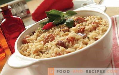 Was soll man mit Fleisch im Ofen kochen? Ideen für kulinarische Inspiration: Rezepte für Reisgerichte mit Fleisch im Ofen