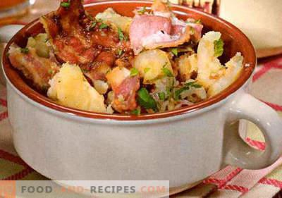 Deutscher Salat - eine Auswahl der besten Rezepte. Wie man richtig und lecker deutschen Salat kocht.