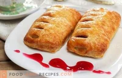 Muffins mit Marmelade - süßes Gebäck zum Tee! Rezepte für Brötchen mit Hefe, Fladenbrot, Blätterteig und Quarkmarmelade