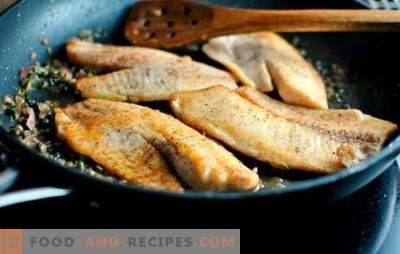 Tilapia in einer Pfanne - saftig, zart und geschmackvoll. Einfache Rezepte gebraten mit knuspriger Kruste und zartem Tilapia-Eintopf in einer Pfanne