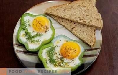 Spiegeleier im Slow Cooker - einfach! Rühreierrezepte in einem langsamen Kocher; Rührei, Spiegeleier mit Tomaten, Käse, Wurst, gedämpft