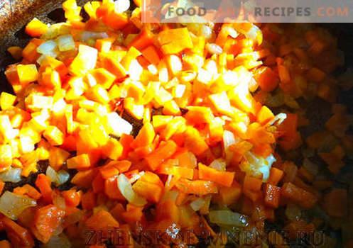 Suppe mit rustikalen Bohnen - Rezept mit Fotos und Schritt für Schritt Beschreibung
