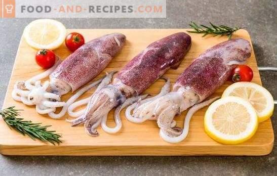 Fehler beim Kochen von Tintenfischen, Garnelen und anderen Meeresreptilien